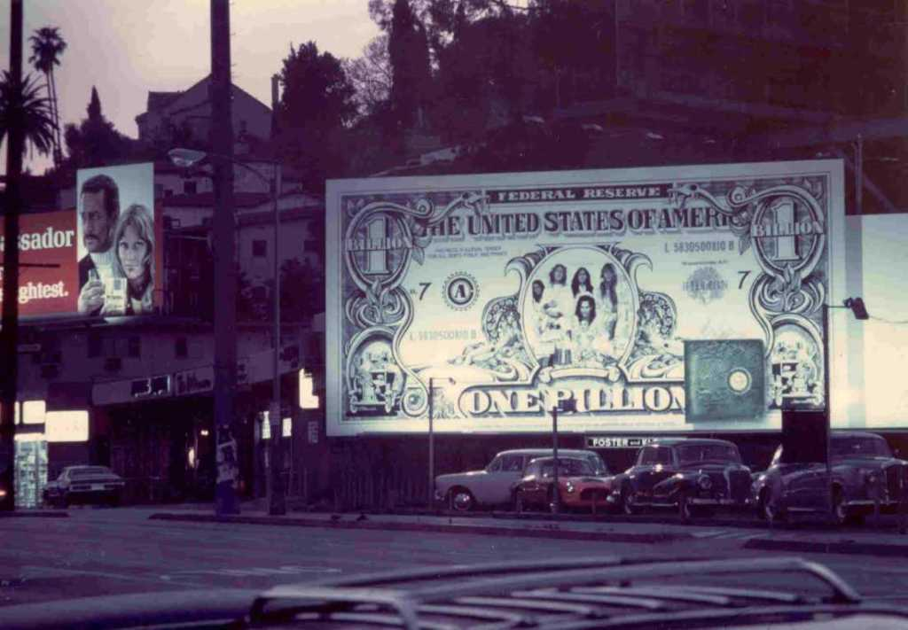 Alice Cooper's Billion Dollar Billboard by Joe Petagno